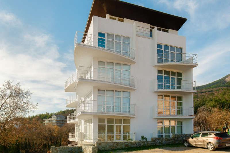 Однокомнатная квартира в Гурзуфе с видом на море. 1