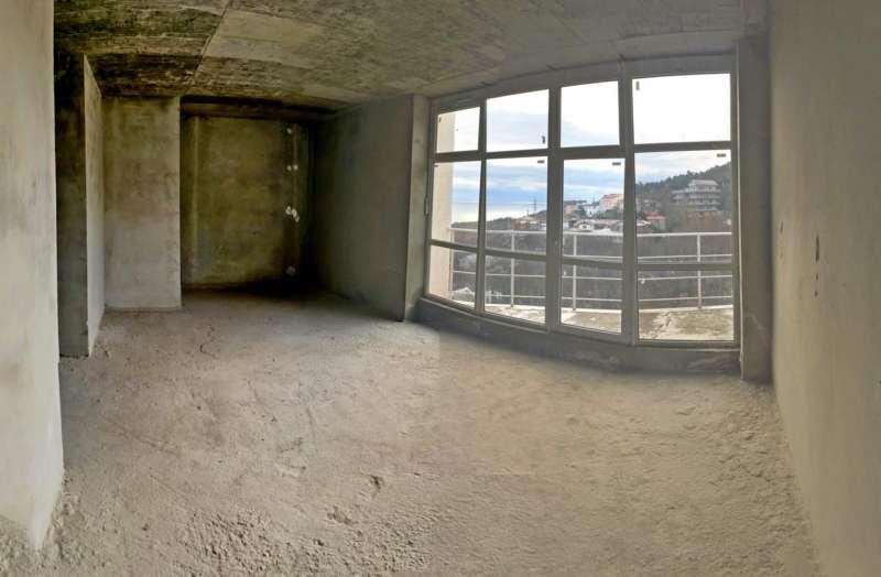 Однокомнатная квартира в Гурзуфе с видом на море. 4
