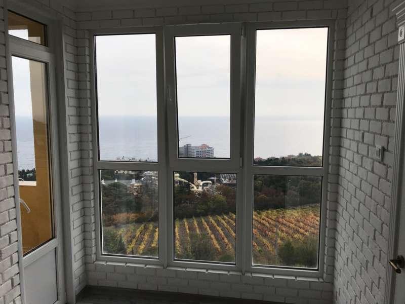 Двухкомнатная квартира в новом доме с видом на море. 7