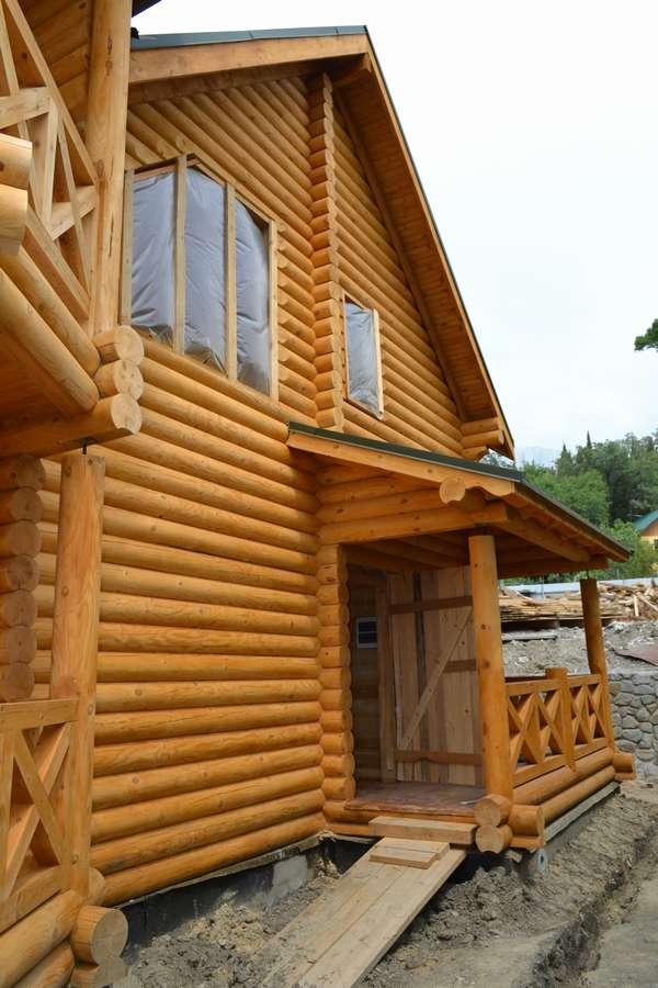 Дом из сруба в Алупке 10