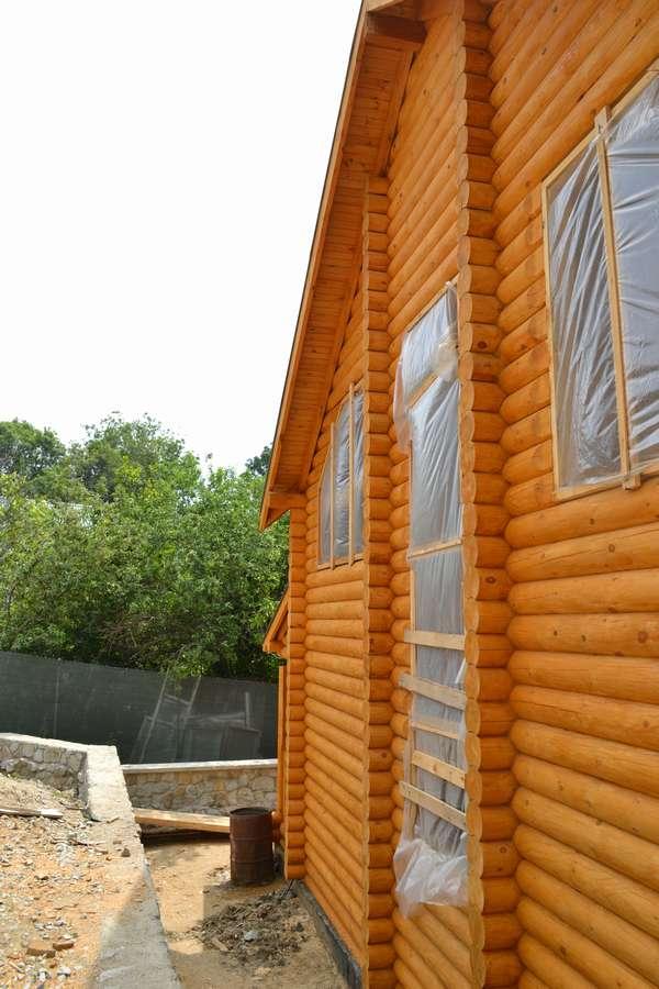 Дом из сруба в Алупке 7