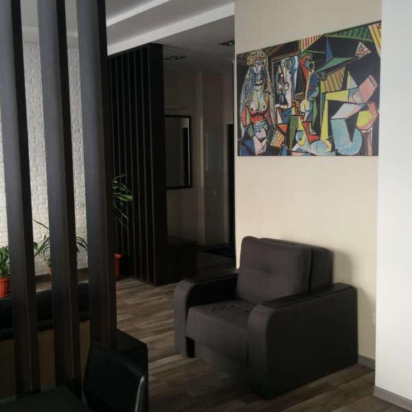 Двухкомнатная квартира с ремонтом в Ялте. 10