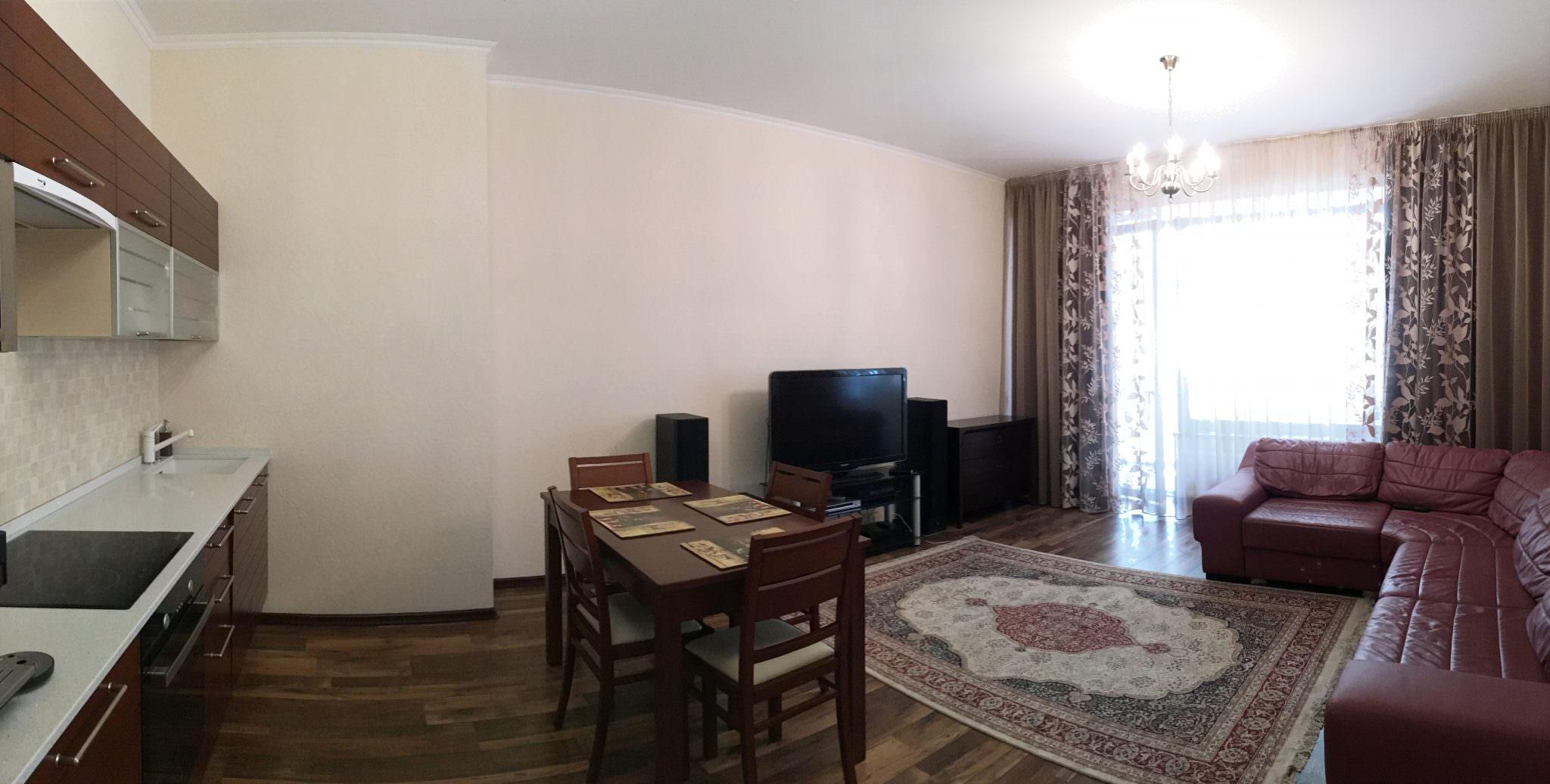 Двухкомнатная квартира в ЖК Омега. 2