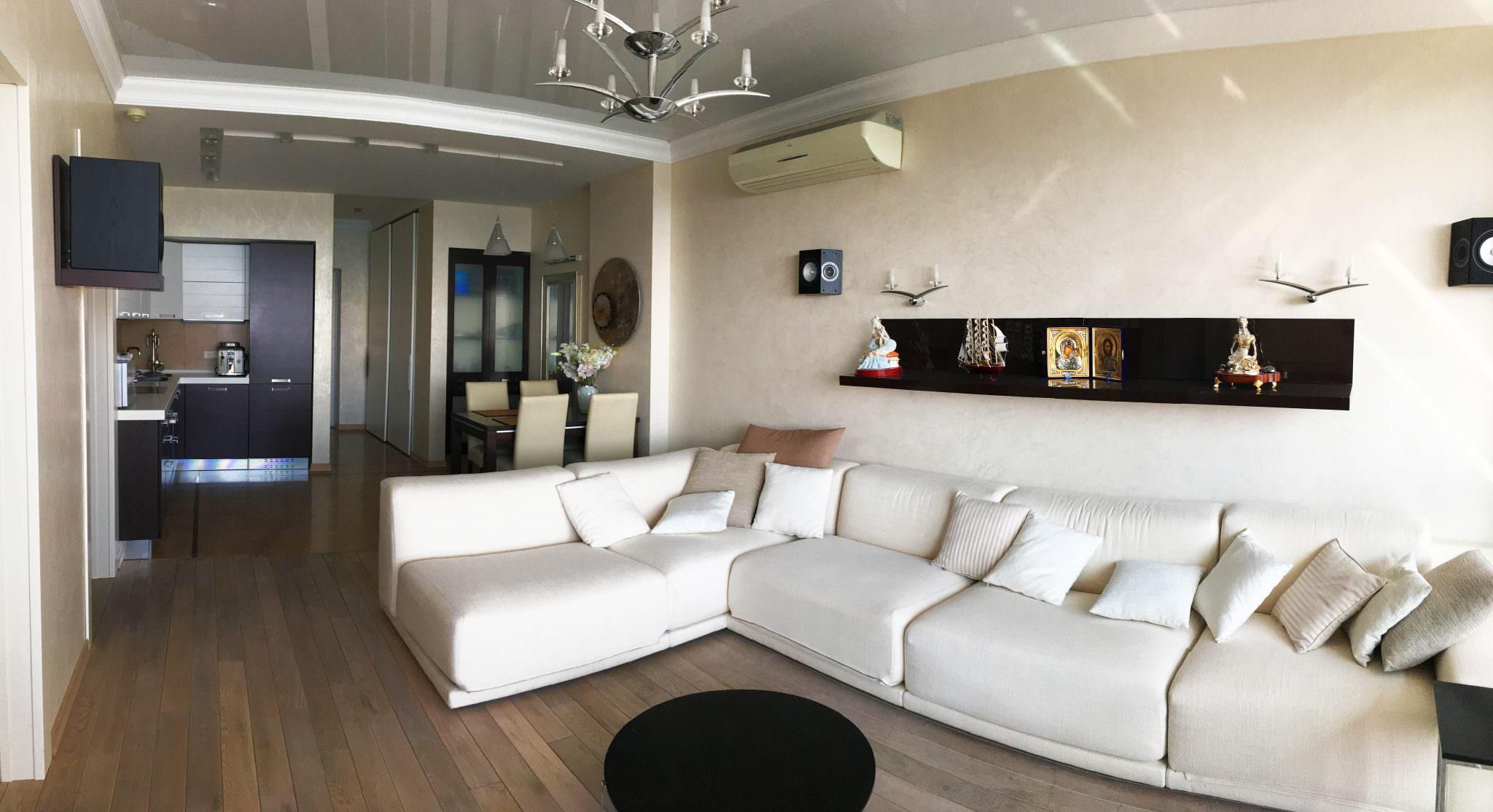 Двухкомнатные апартаменты в Приморском Парке ЖК Парус 1