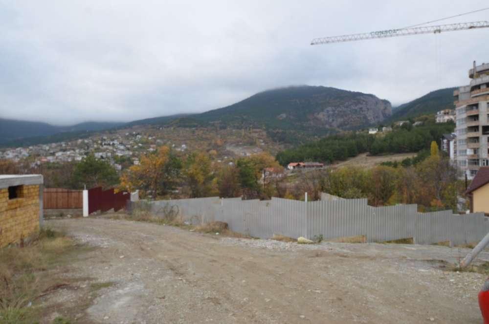 Участок в Массандре с видом на горы 9 соток 7
