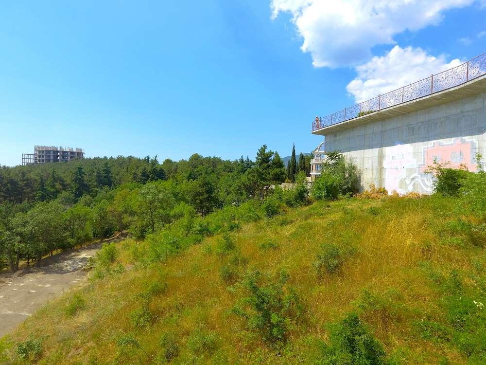 Видовой участок в Ялте в районе Холма Славы 7