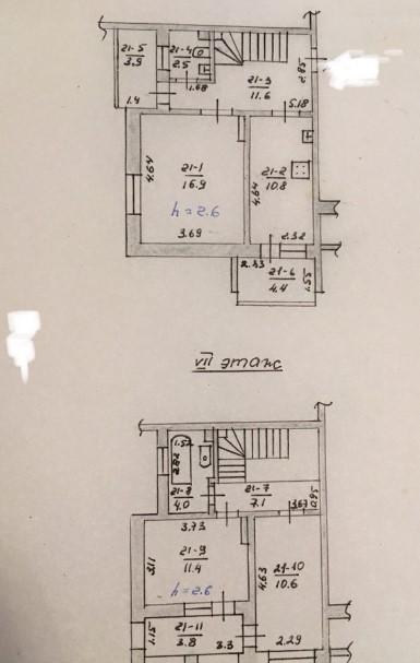 3х комнатная квартира 13