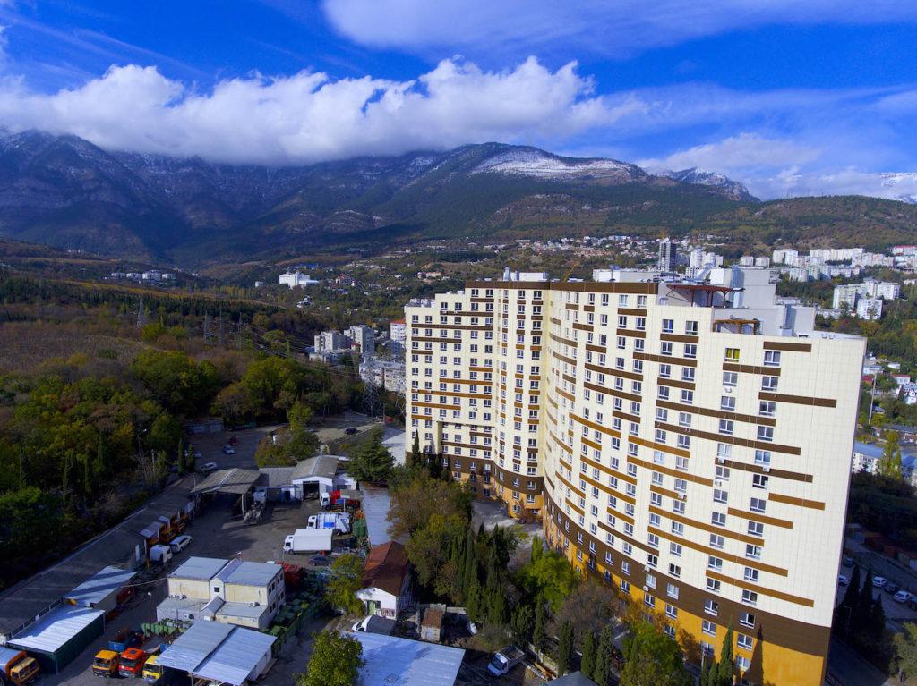 Квартира с видом на Горы 15
