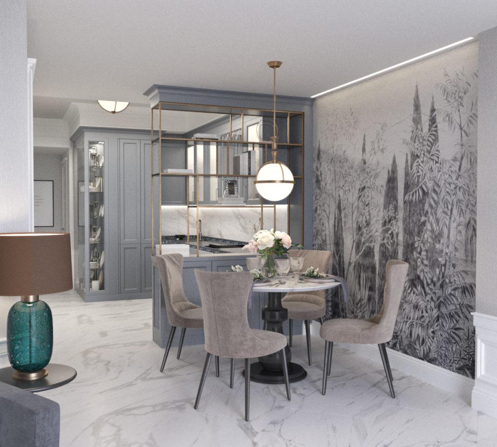 Квартира с дизайнерским ремонтом Приморский Парк 4