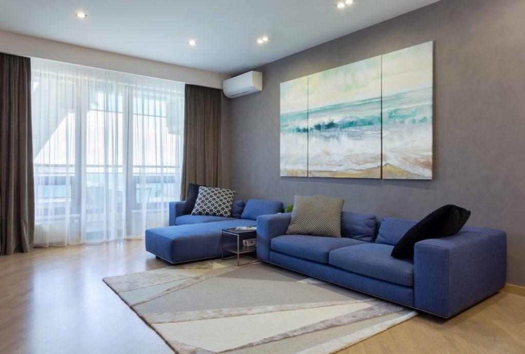 Просторный апартамент с видом на море 3