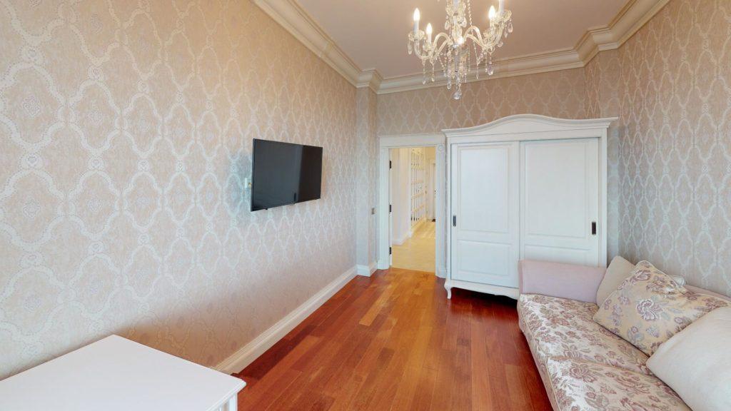 Квартира с панорамным видом на море в Приморском Парке 8