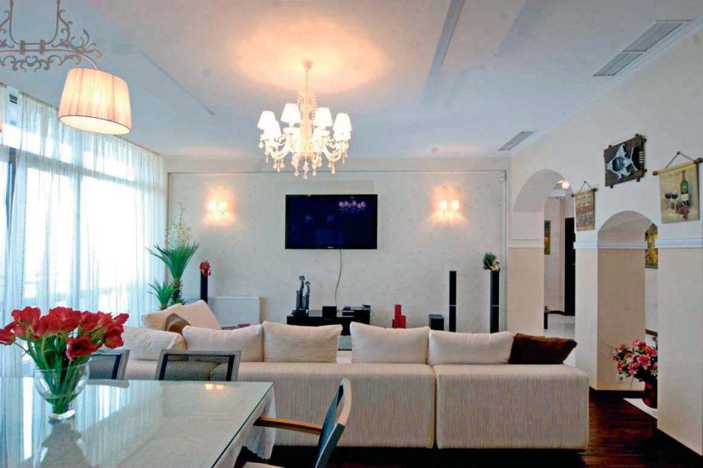 Апартаменты с дизайнерским ремонтом в ЖК Дача доктора Штейнгольца 1
