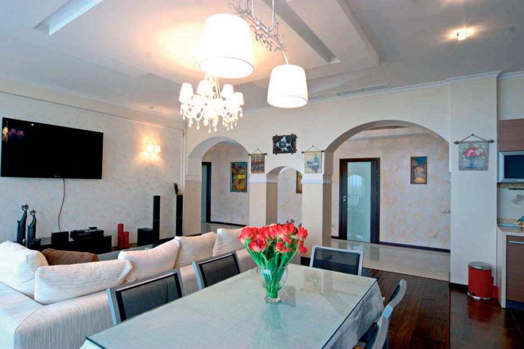 Апартаменты с дизайнерским ремонтом в ЖК Дача доктора Штейнгольца 4