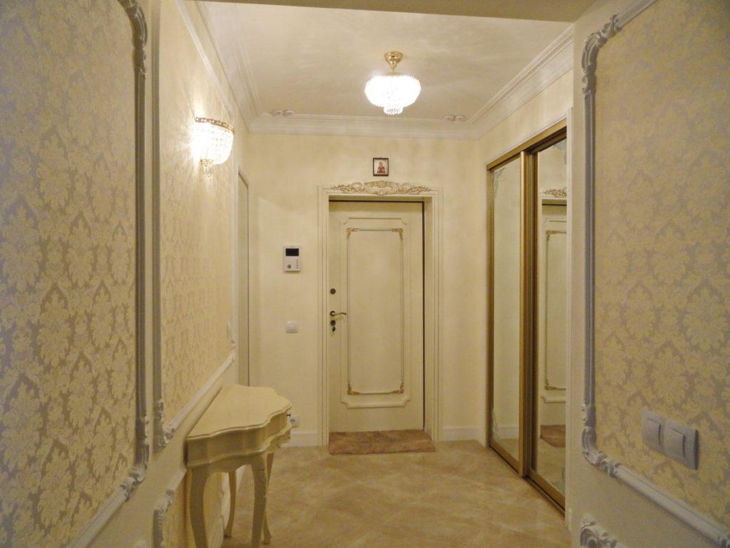 Квартира с ремонтом  в ЖК Дарсан Палас 3