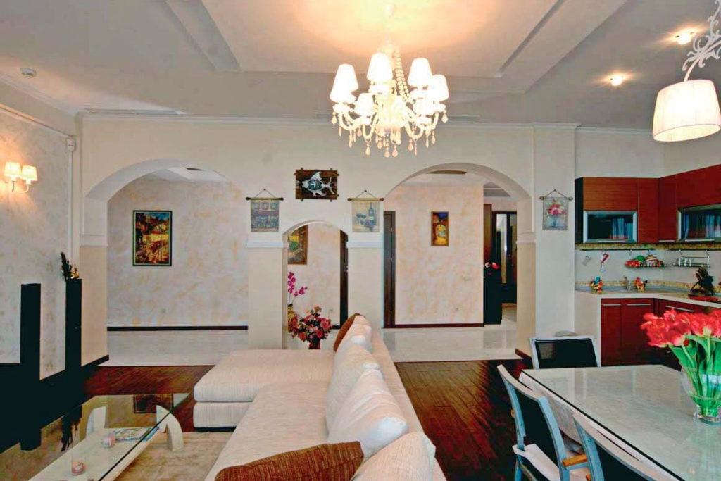 Апартаменты с дизайнерским ремонтом в ЖК Дача доктора Штейнгольца 5
