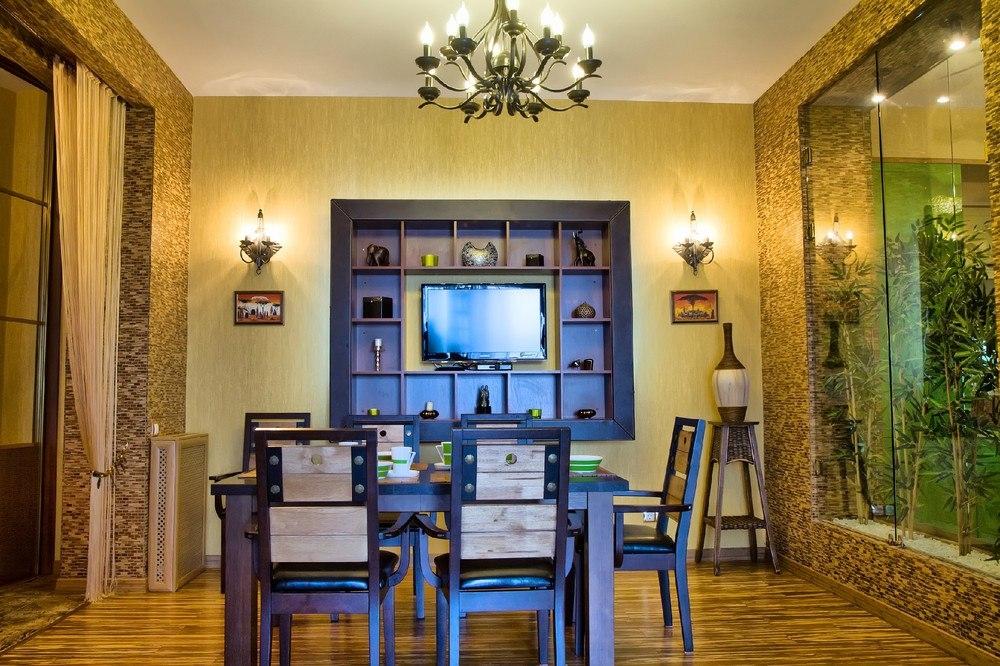 Роскошные апартаменты с дизайнерским современным интерьером 15