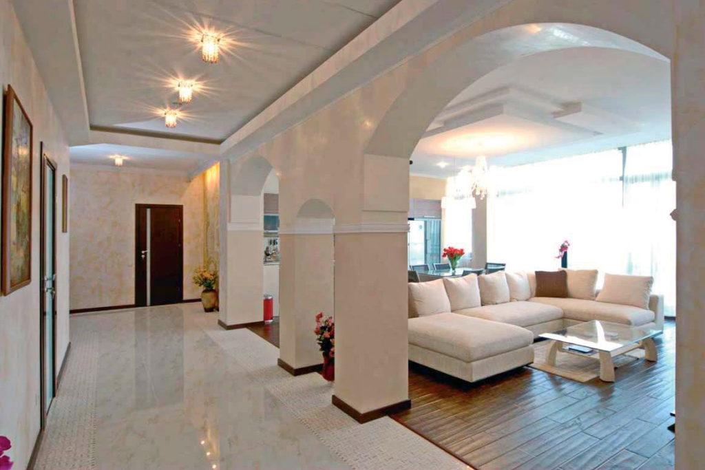 Апартаменты с дизайнерским ремонтом в ЖК Дача доктора Штейнгольца 14