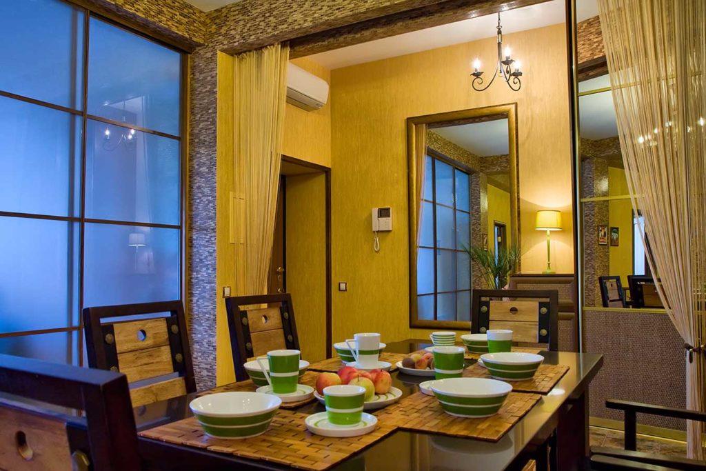 Роскошные апартаменты с дизайнерским современным интерьером 16