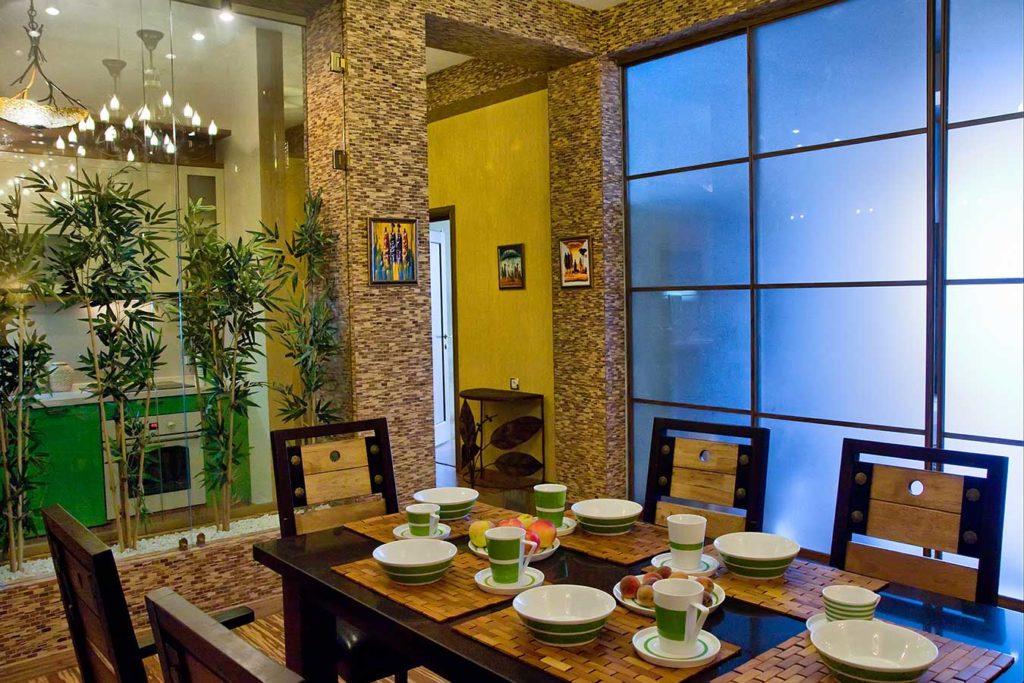Роскошные апартаменты с дизайнерским современным интерьером 17