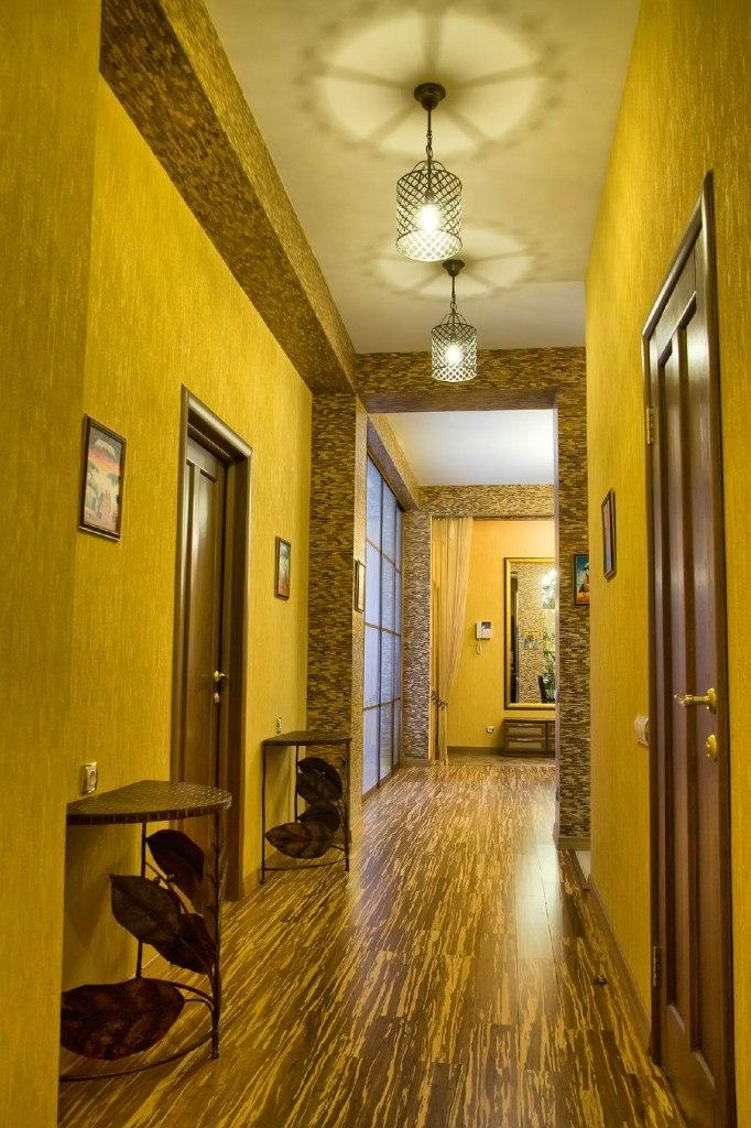 Роскошные апартаменты с дизайнерским современным интерьером 20