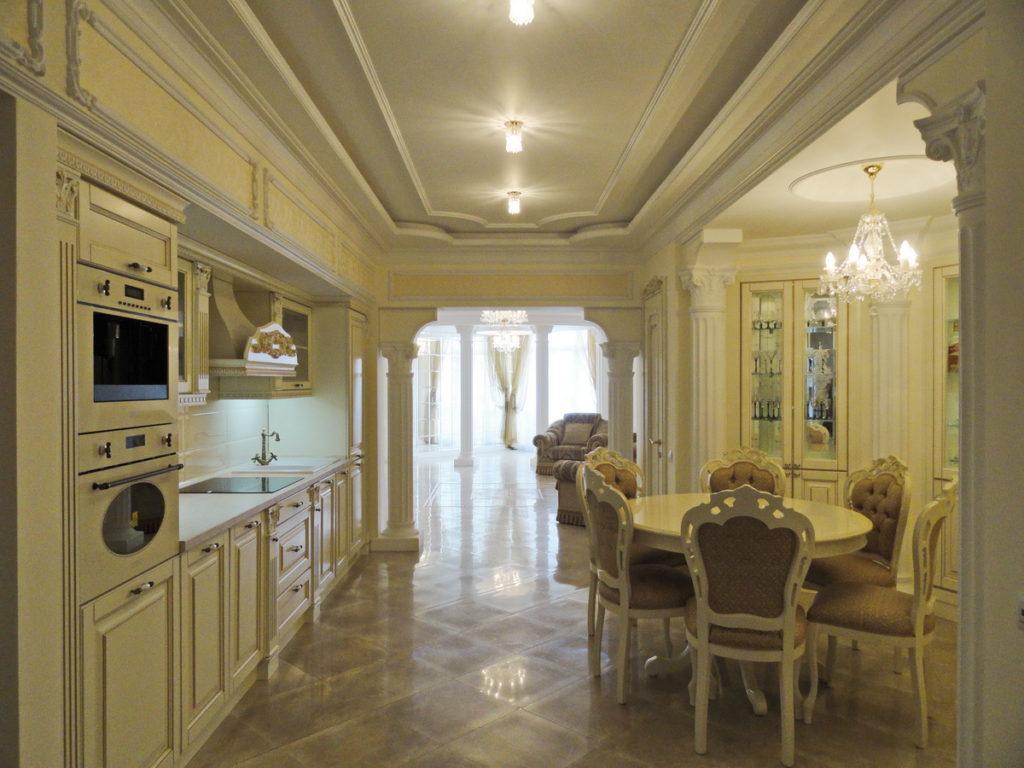 Квартира с ремонтом  в ЖК Дарсан Палас 21