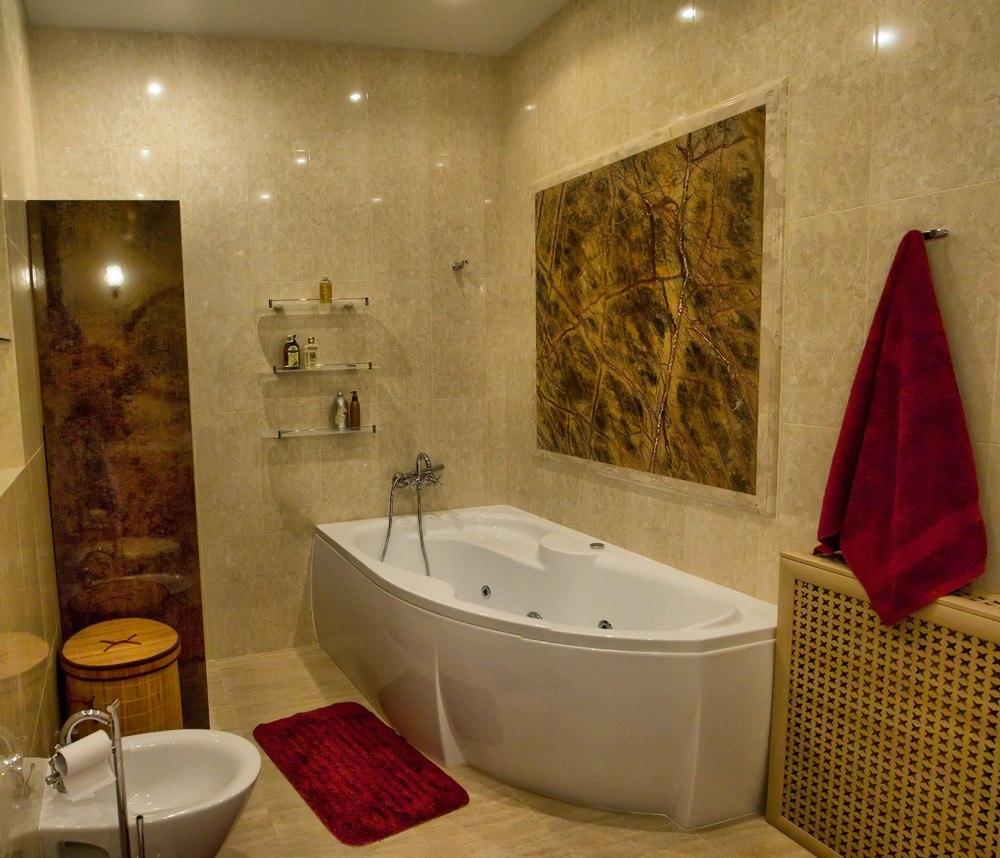 Роскошные апартаменты с дизайнерским современным интерьером 25