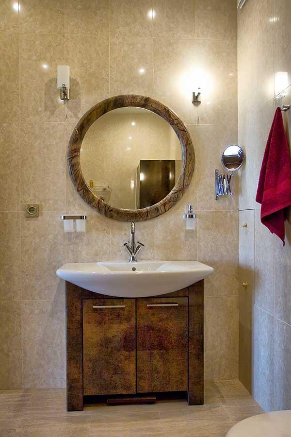 Роскошные апартаменты с дизайнерским современным интерьером 26