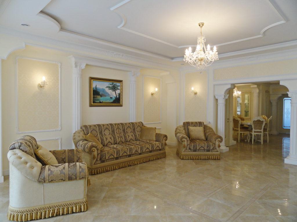 Квартира с ремонтом  в ЖК Дарсан Палас 32