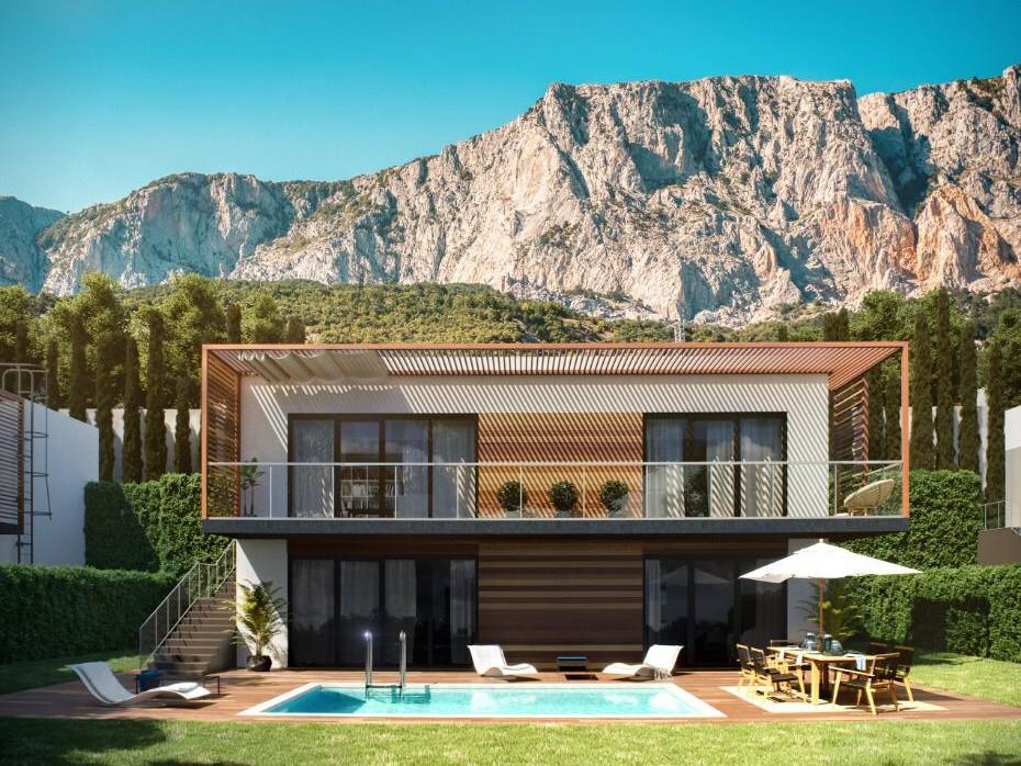 Вилла 10.4 в ЖК Yalta Park Hills 6