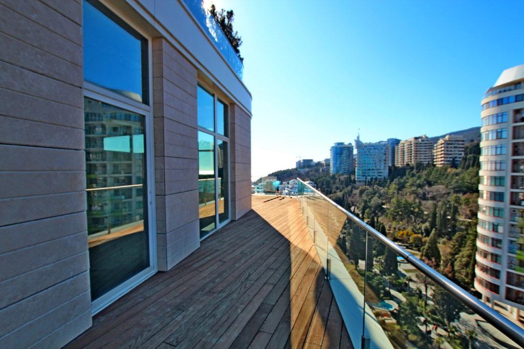 Апартаменты с террасой в центре 7