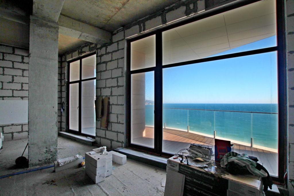 Просторные апартаменты у моря 3
