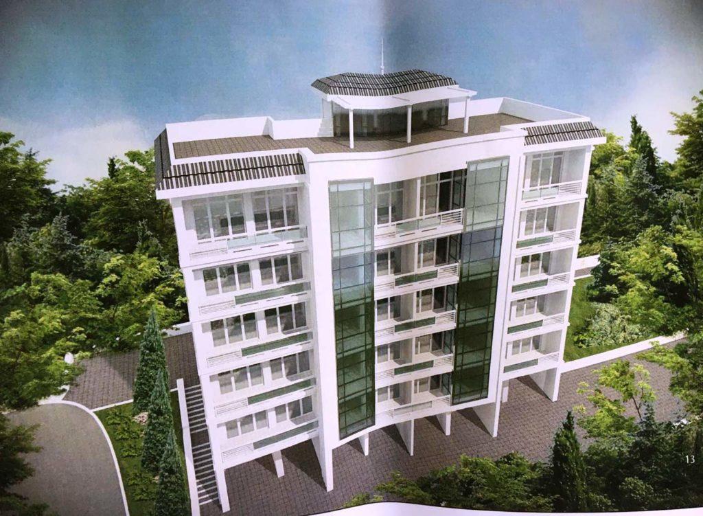 Участок для среднеэтажной жилой застройки в Массандре 4