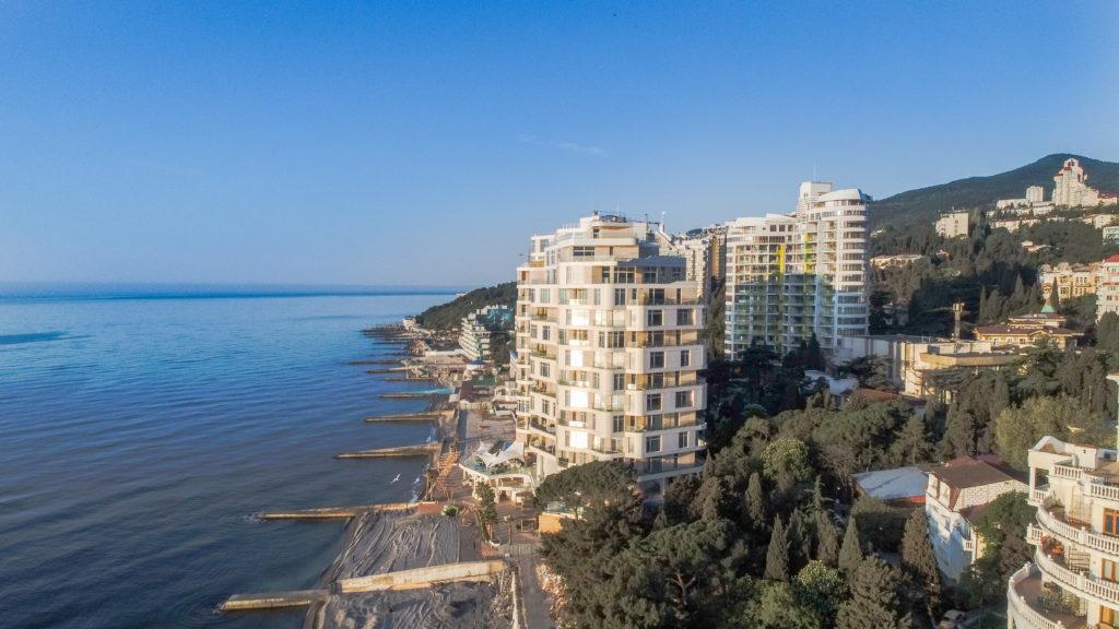 Апартаменты в комплексе Опера Прима у моря 17