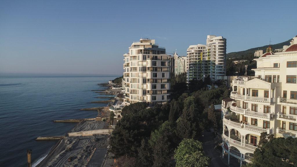 Апартаменты в комплексе Опера Прима у моря 18