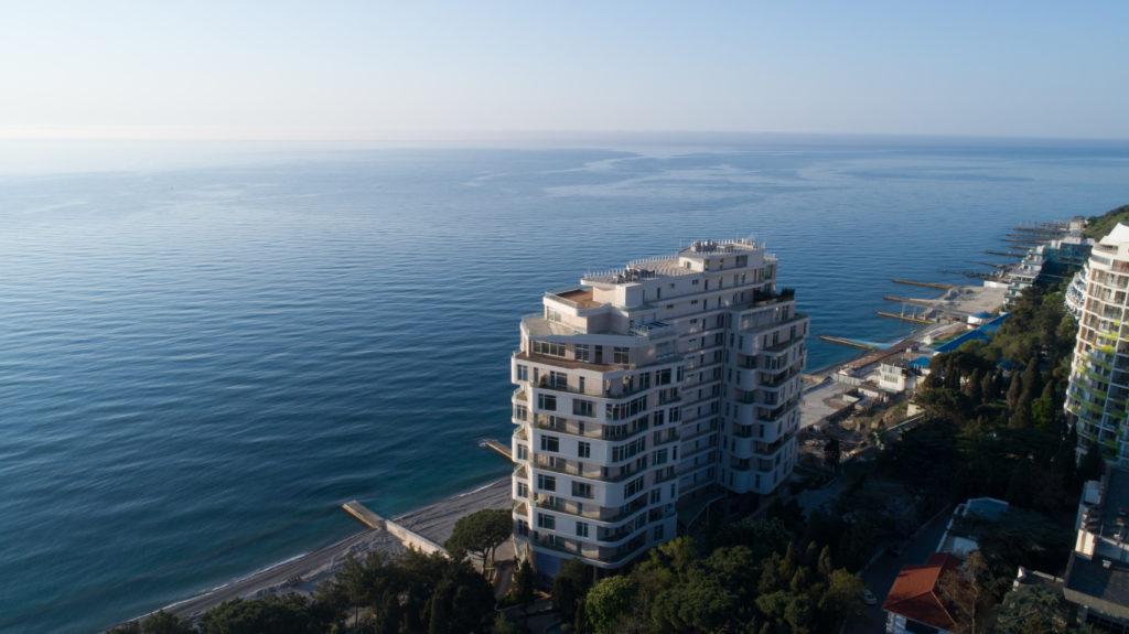 Апартаменты в комплексе Опера Прима у моря 16