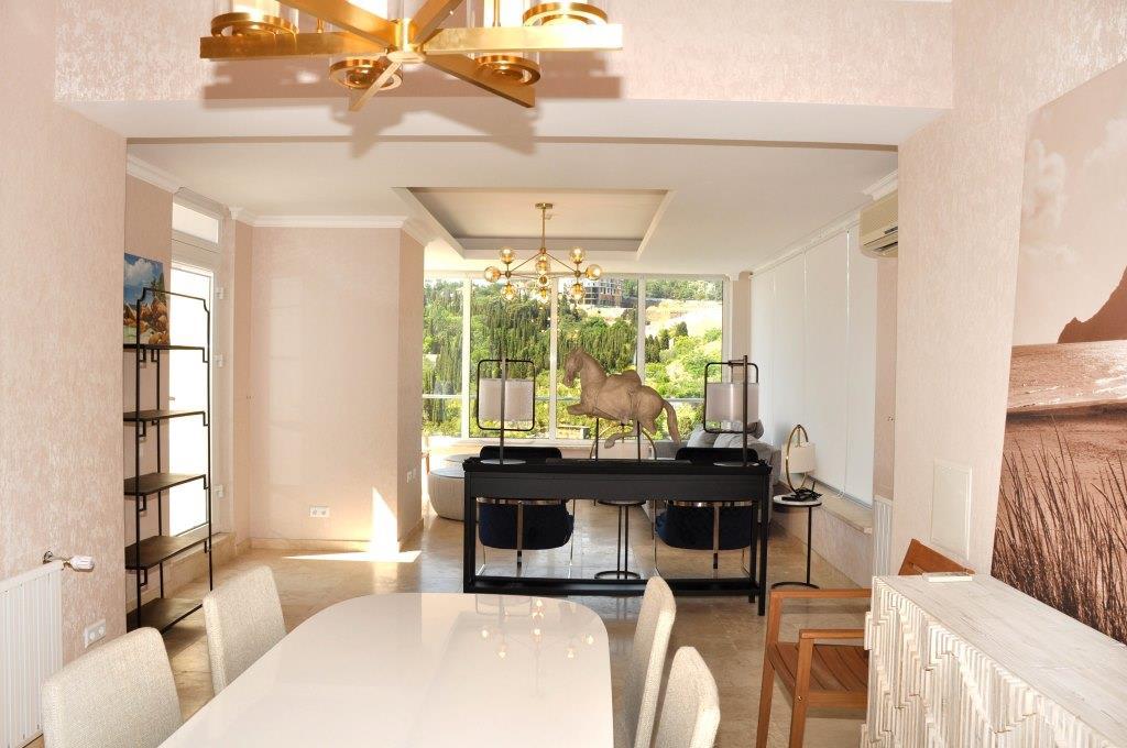 Современные 3-х комнатные апартаменты с лучшим видом на море и город 14