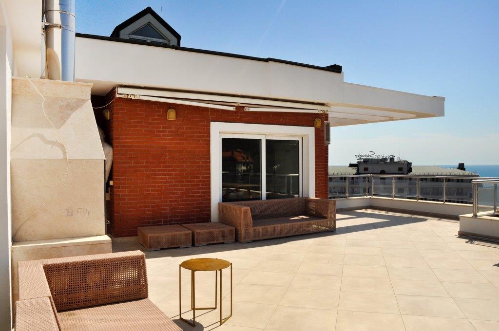 Современные 3-х комнатные апартаменты с лучшим видом на море и город 33