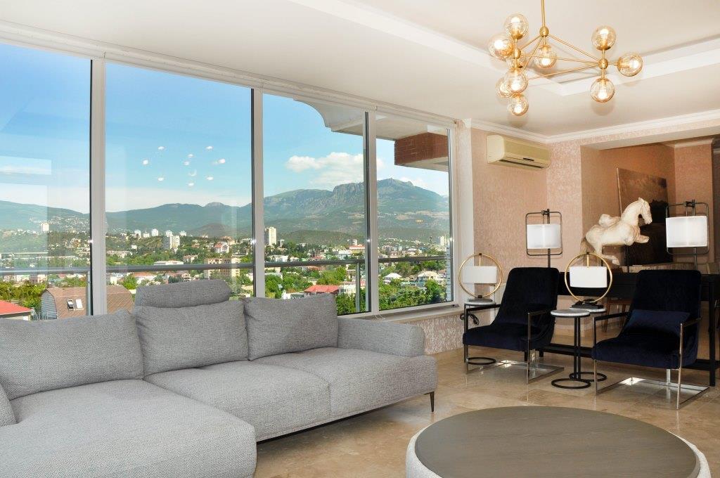Современные 3-х комнатные апартаменты с лучшим видом на море и город 5