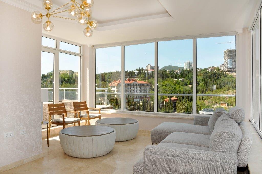 Современные 3-х комнатные апартаменты с лучшим видом на море и город 6