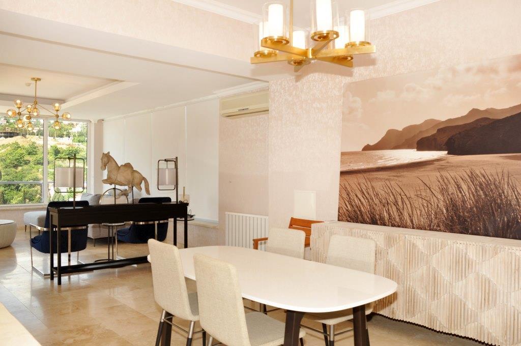 Современные 3-х комнатные апартаменты с лучшим видом на море и город 18