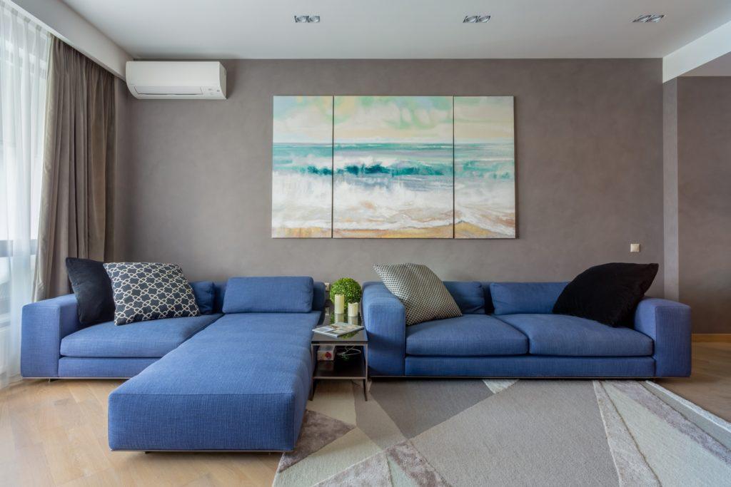 Просторный апартамент с видом на море 13