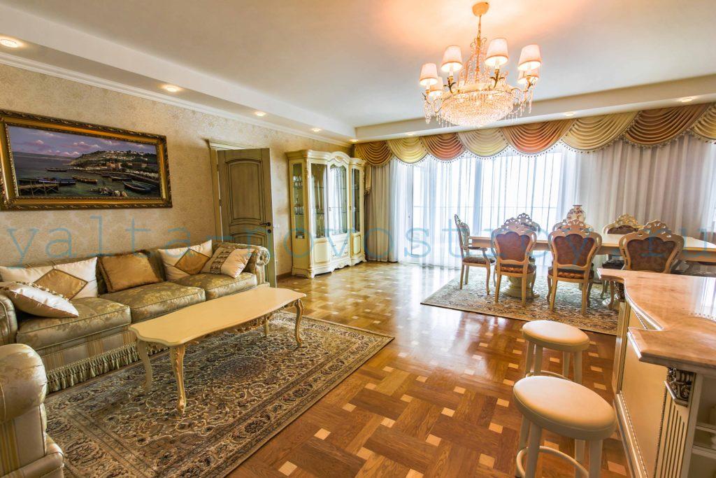 Продажа элитной квартиры 225 м2 в ЖК Ореанда Плаза 2