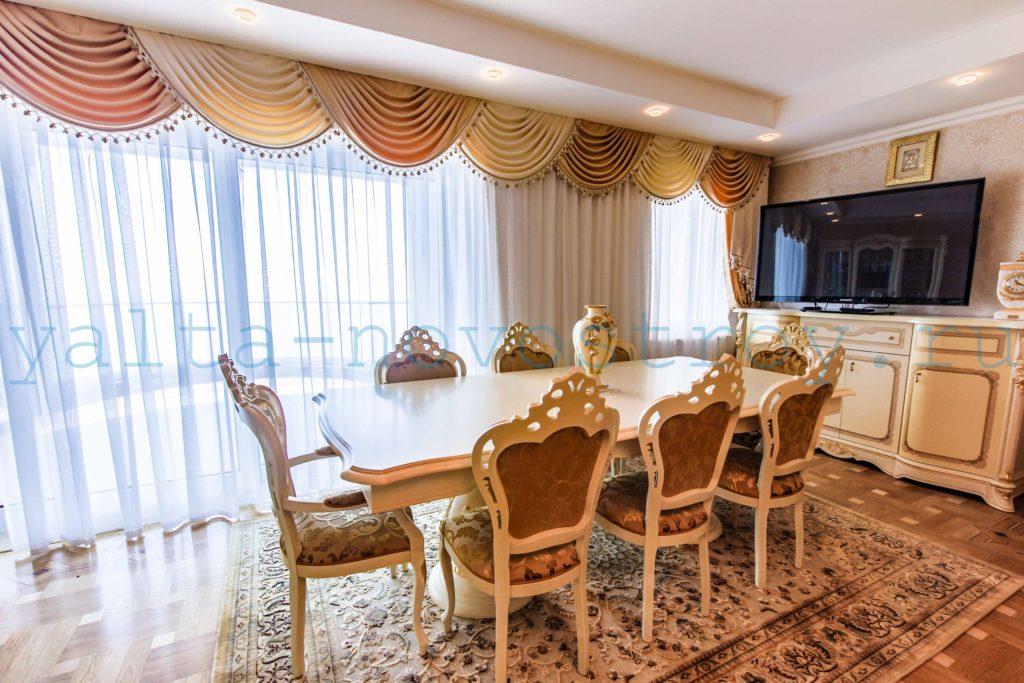 Продажа элитной квартиры 225 м2 в ЖК Ореанда Плаза 4