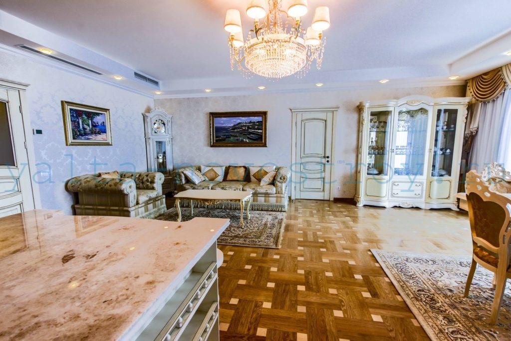 Продажа элитной квартиры 225 м2 в ЖК Ореанда Плаза 5