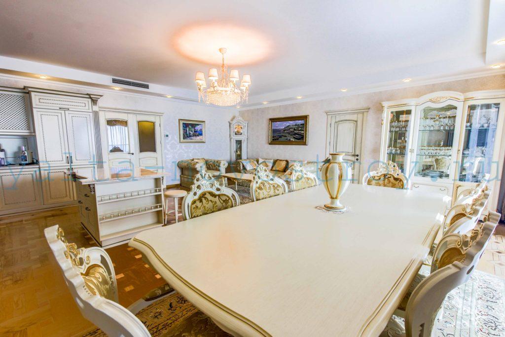 Продажа элитной квартиры 225 м2 в ЖК Ореанда Плаза 6
