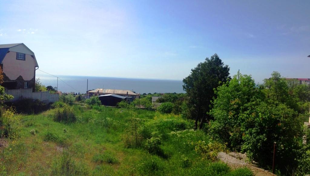 Участок 8,6 соток Ялта, п.Кацивелли с видом на море. 16