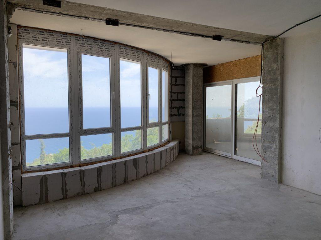 Квартира в жк Ореанда Плаза 140 м2 с прямым видом на море 14