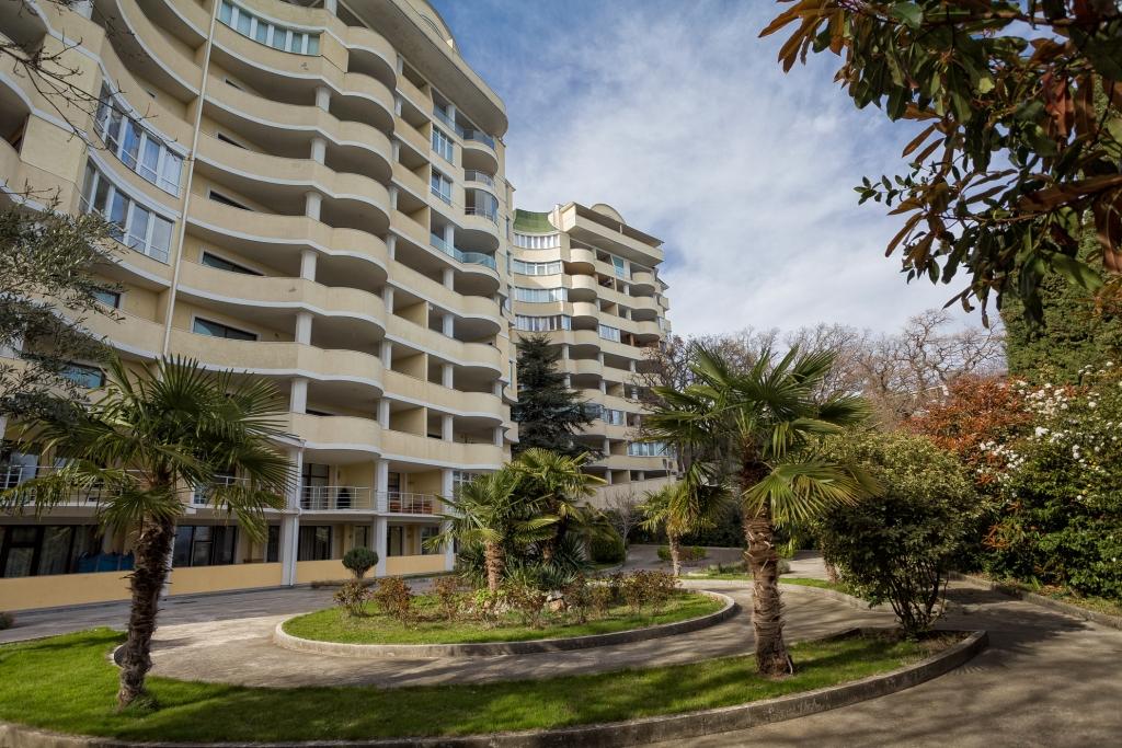 Квартира в жк Ореанда Плаза 140 м2 с прямым видом на море 25