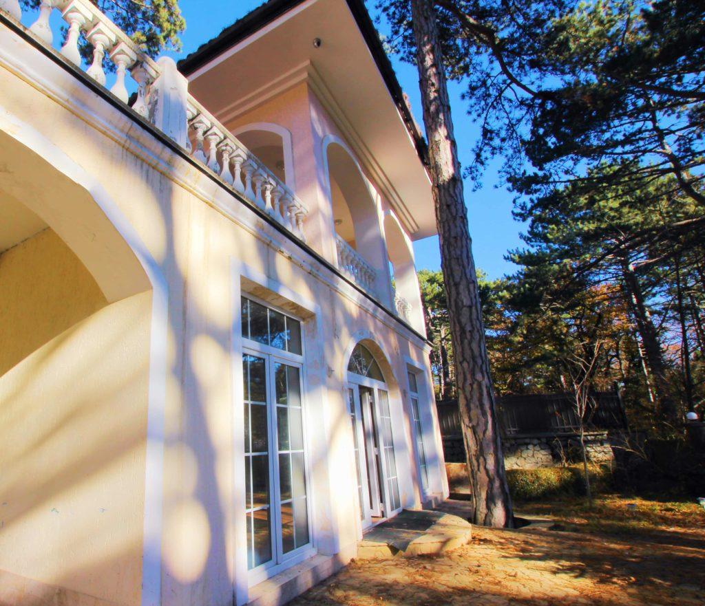Двух этажный дом в закрытом посёлке Горный 1