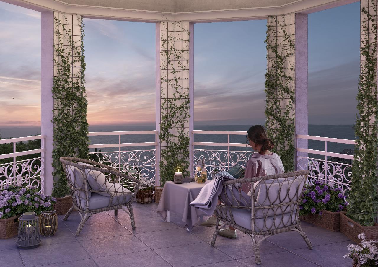 Квартира №76 в ЖК Монако 14